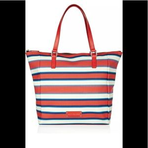 Marc by Marc Jacobs Striped Tote